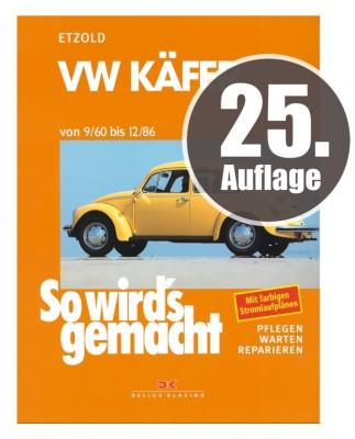 """25. Auflage des """"So wird's gemacht""""-Bandes über den VW Käfer erschienen"""