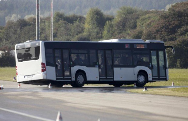 Der neue Mercedes-Benz Citaro: Mehr Sicherheit für den Stadtbus