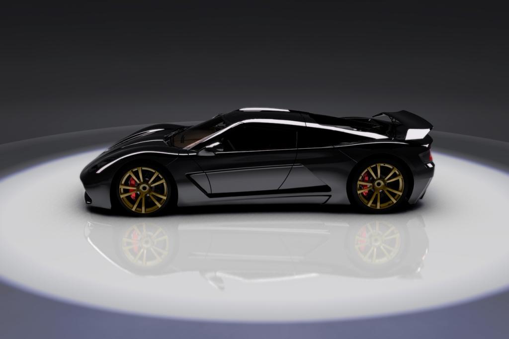 Genty Akylone – Bugatti-Veyron-Killer aus Frankreich