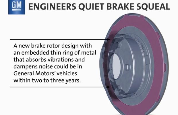 GM entwickelt Anti-Quietsch-Bremsen