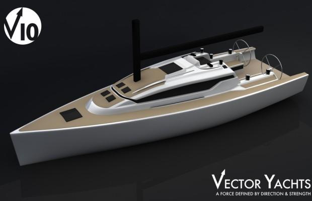 Vector Yachts startet mit Segelyacht Vector 10 neue Baureihe
