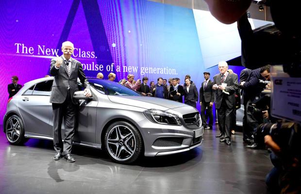 Auf Eroberungskurs: Nächste A-Klasse als Symbol für neue Mercedes-Dynamik