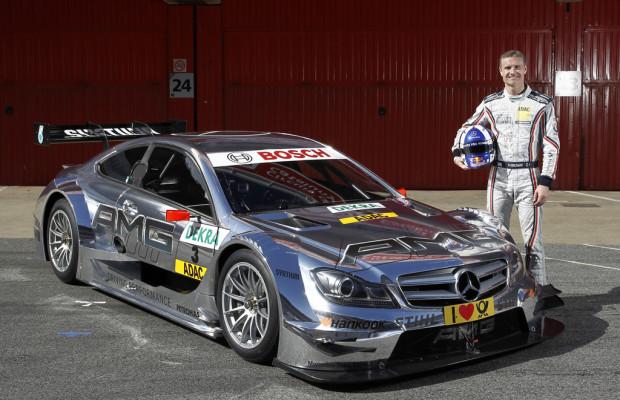 David Coulthard auch 2012 im DTM-Team von Mercedes-Benz
