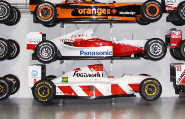 Team FNT kümmert sich um historische Formel-1-Fahrzeuge