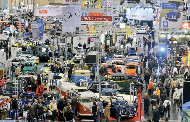 Techno-Classica 2012: Auch der 500 SL von Lady Di kommt