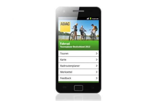 ADAC Fahrrad-Tourenplaner - App für Deutschland