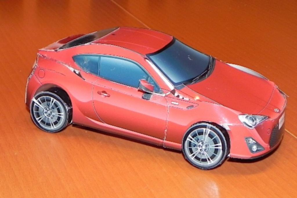 Toyota Gt86 Aus Papier Der Do It Yourself Sportwagen Magazin