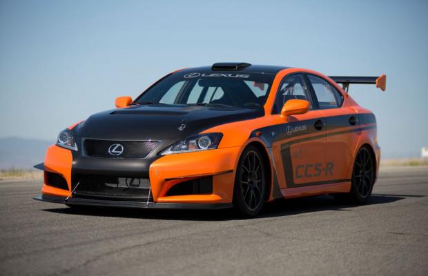 Lexus startet mit modifiziertem IS F Race Car beim Pikes Peak Rennen