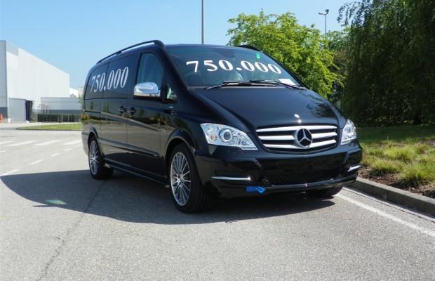 Mercedes-Benz-Werk Vitoria fertigt 750 000stes Fahrzeug der Van-Baureihen