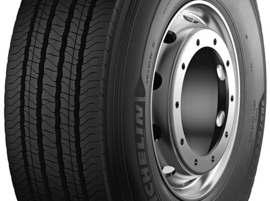 Reifen 2012: Michelin stellt neuen Reifen für Lkw-Vorderachsen vor