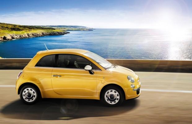 Fiat 500 feiert Geburtstag an der Isar