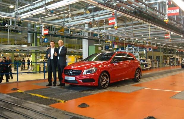 Mercedes A-Klasse Produktionsstart - Montage 4.0, Job Nummer 1, Stunde null