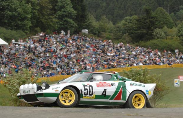 Rallye-Festival in der Eifel mit legendären Fahrern und historischen Boliden