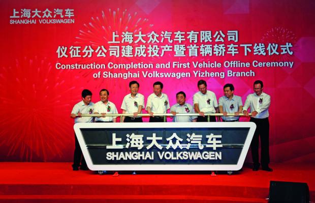 Volkswagen eröffnet neues Fahrzeugwerk in China
