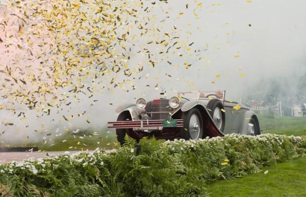 Concours d'Elegance in Pebble Beach - Am Schmiernippel der automobilen Weltachse