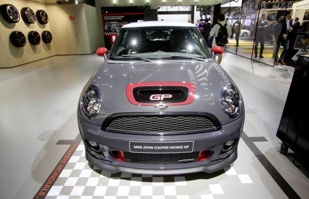 Paris 2012: 2000 Mini sind 242 km/h schnell