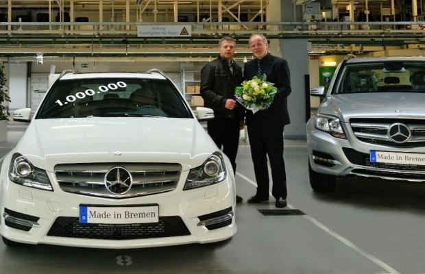 Einmillionste Mercedes-Benz C-Klasse aus Bremen