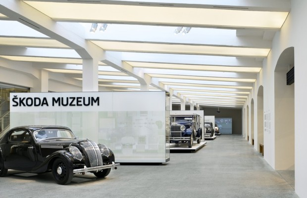 Skoda-Museum neu eröffnet