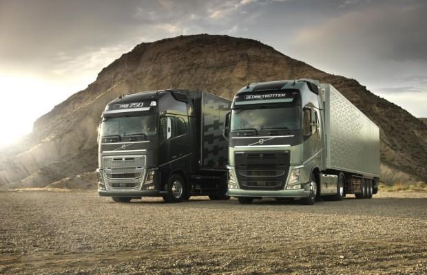 Volvo Trucks-Software spart Kraftstoff
