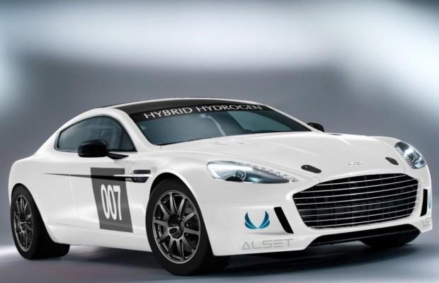 Aston Martin Hybrid Rapide S - Es soll dampfen