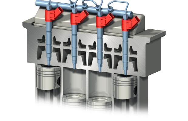 Neuartiges Einspritzkontrollsystem von Volvo