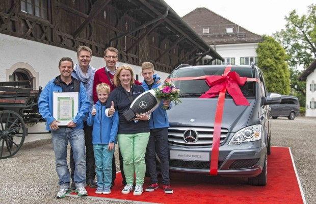 Familie gewinnt Mercedes-Benz Viano