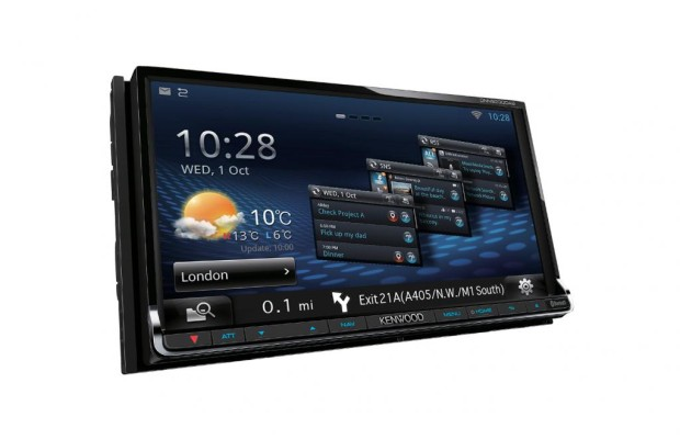 Kenwood: Multimedia und Navigation in einem