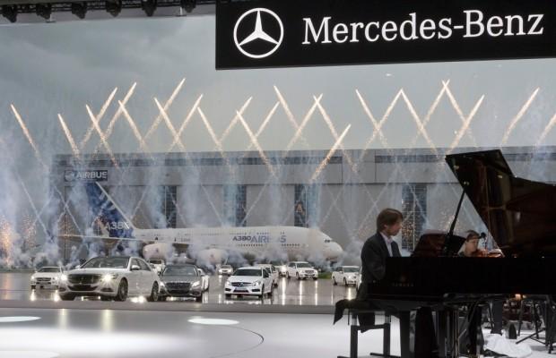 Weltpremiere Mercedes S-Klasse - DaS Auto