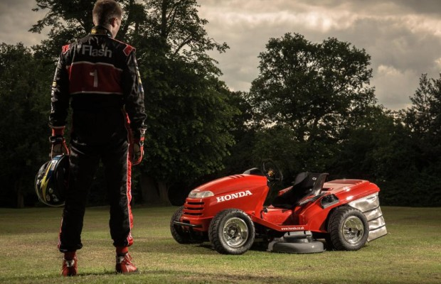 Honda Mean Mower: Schnellster Rasenmäher der Welt