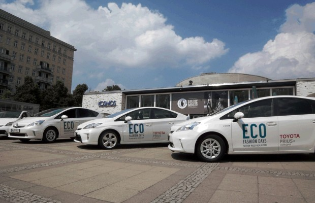 Toyota shuttelt die Eco Fashion Days