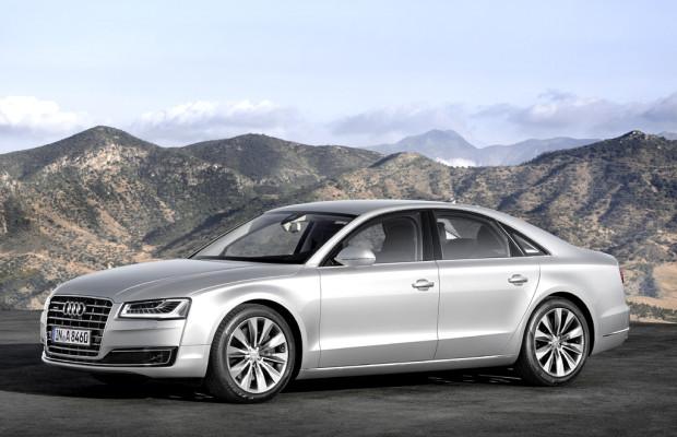 Audi kündigt neuen A8 für November an / Auch Zwölfzylinder, S8 und Hybrid