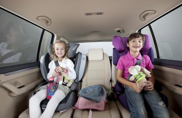 Kindersitze können zu Verbrennungen führen