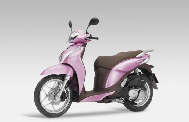 Honda mit neuem Zwei-Liter-Roller