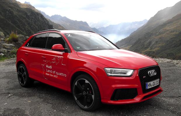 Der Gipfelstürmer: Audi kündigt neuen RS Q3 für November an