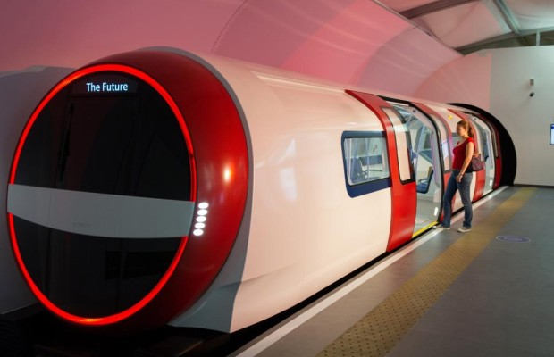 Siemens Design-Studie -    Neues für Londons Röhre