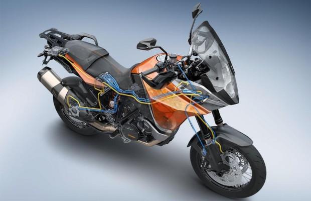 Bosch-Elektronik gegen Motorradunfälle