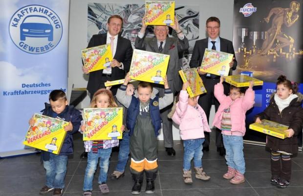 Kfz-Gewerbe fördert frühkindliche Verkehrserziehung