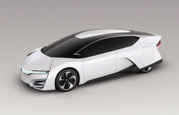 L.A. 2013: Honda FCEV Concept - Kleine Zelle, große Leistung