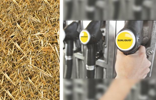 Stroh wird zu flüssigem Gold - Biokraftstoff ohne Reue
