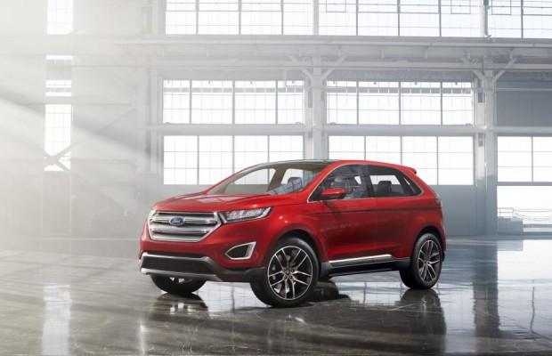 Ford-Schritte mit langem Vorlauf