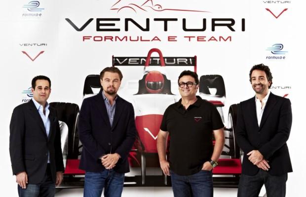 Leonardo DiCaprio unterstützt Venturi in der Formel E-Meisterschaft