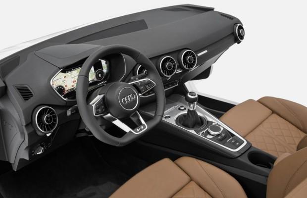 Audi zeigt das TT-Cockpit der Zukunft