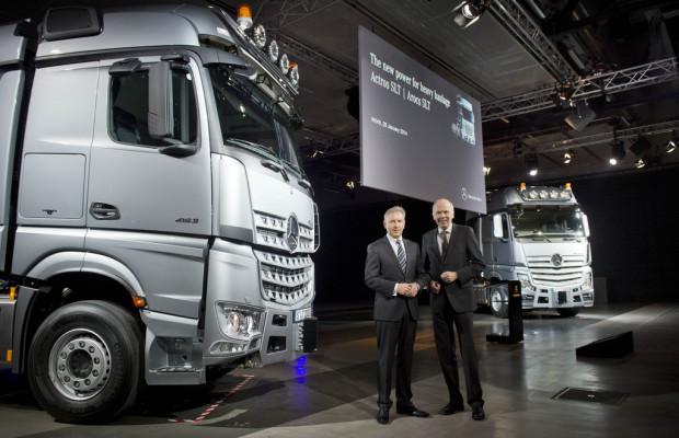 Daimlers dickste Brummis: Actros SLT und Arocs SLT
