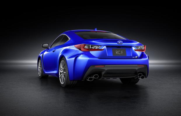 Detroit 2014: Weltpremiere für Lexus RC F