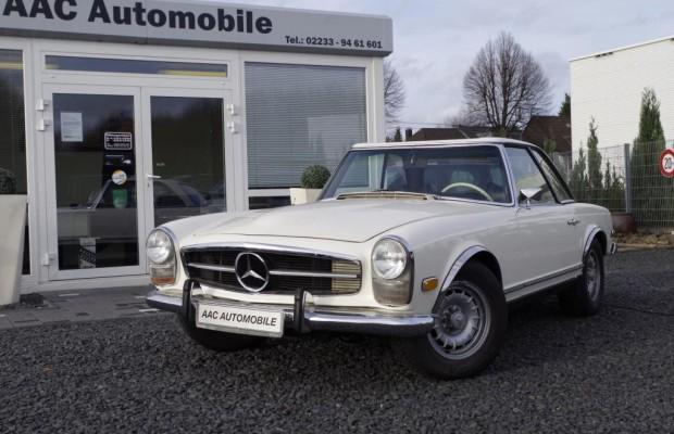 Oldtimer im Test: Mercedes 280 SL - Im Glanz der Sechziger