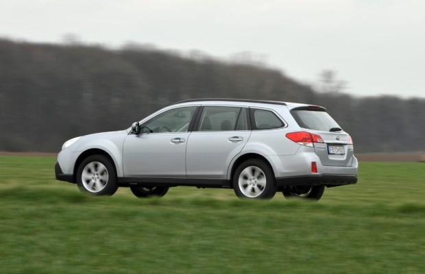 Subaru-Outback liebt den Matsch