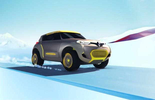 Auto Expo 2014: Renault Kwid schickt Flugroboter voraus