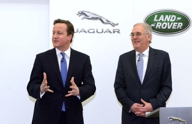Cameron besichtigt künftiges Jaguar-Land-Rover-Werk