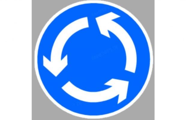 Ratgeber: Richtig fahren im Kreisverkehr - Rechts herum