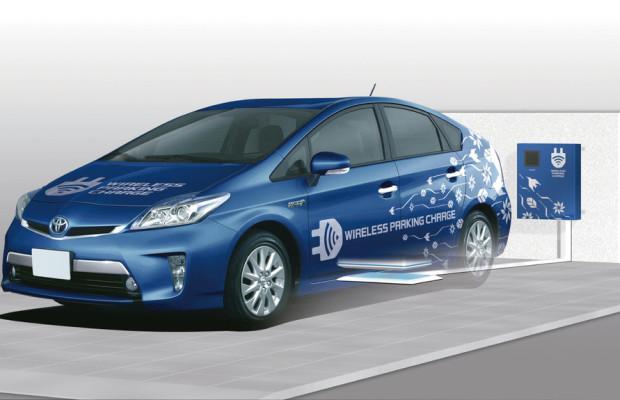Toyota testet kabelloses Laden